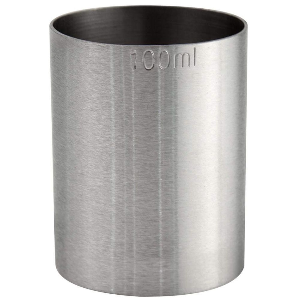 100ml Spirit Thimble Measure Stainless Steel