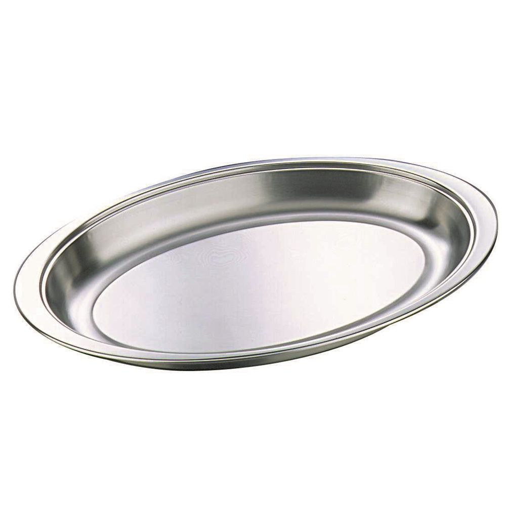 "20"" Large Oval Banqueting Veg Dish"
