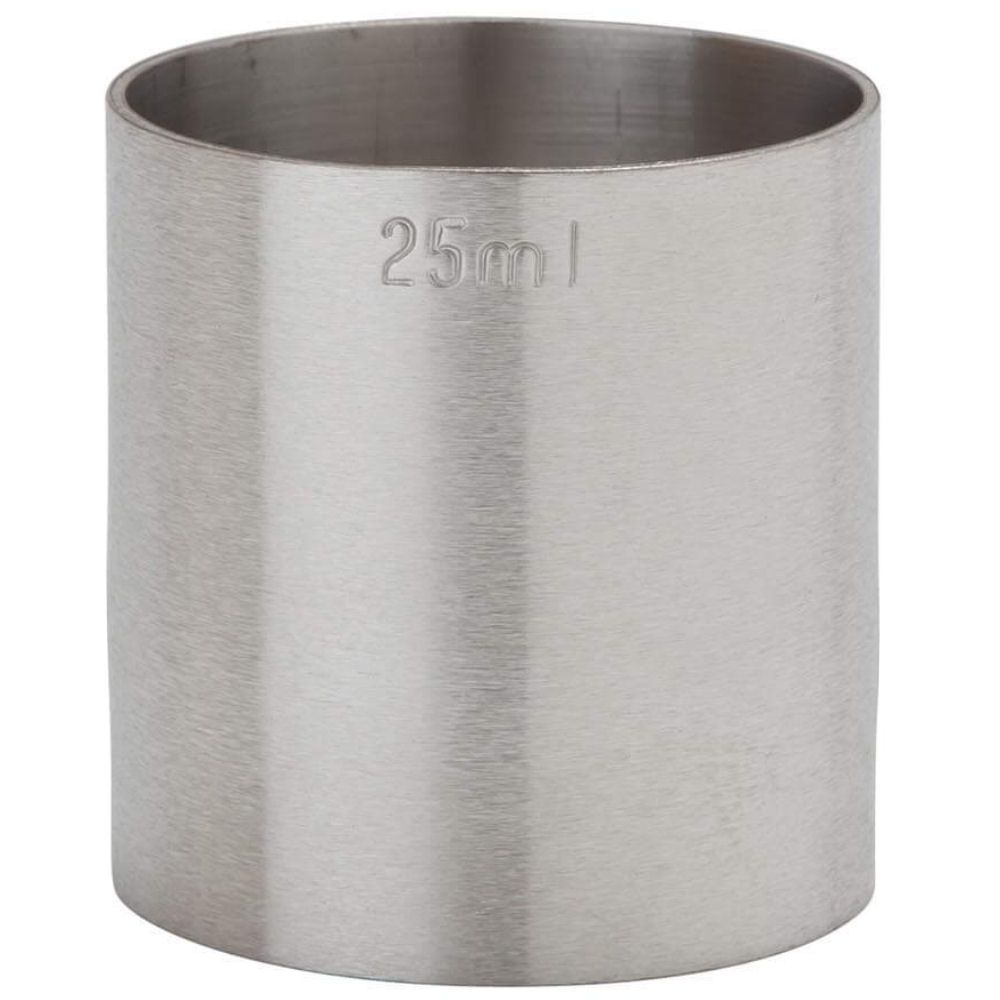 25ml Spirit Thimble Measure Stainless Steel