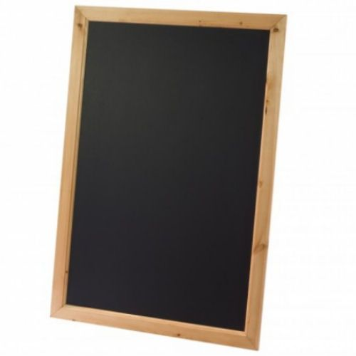 Framed Black Board with Antique Pine Finish