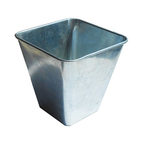 Galvanised Steel Flared Serving Tub 10cm