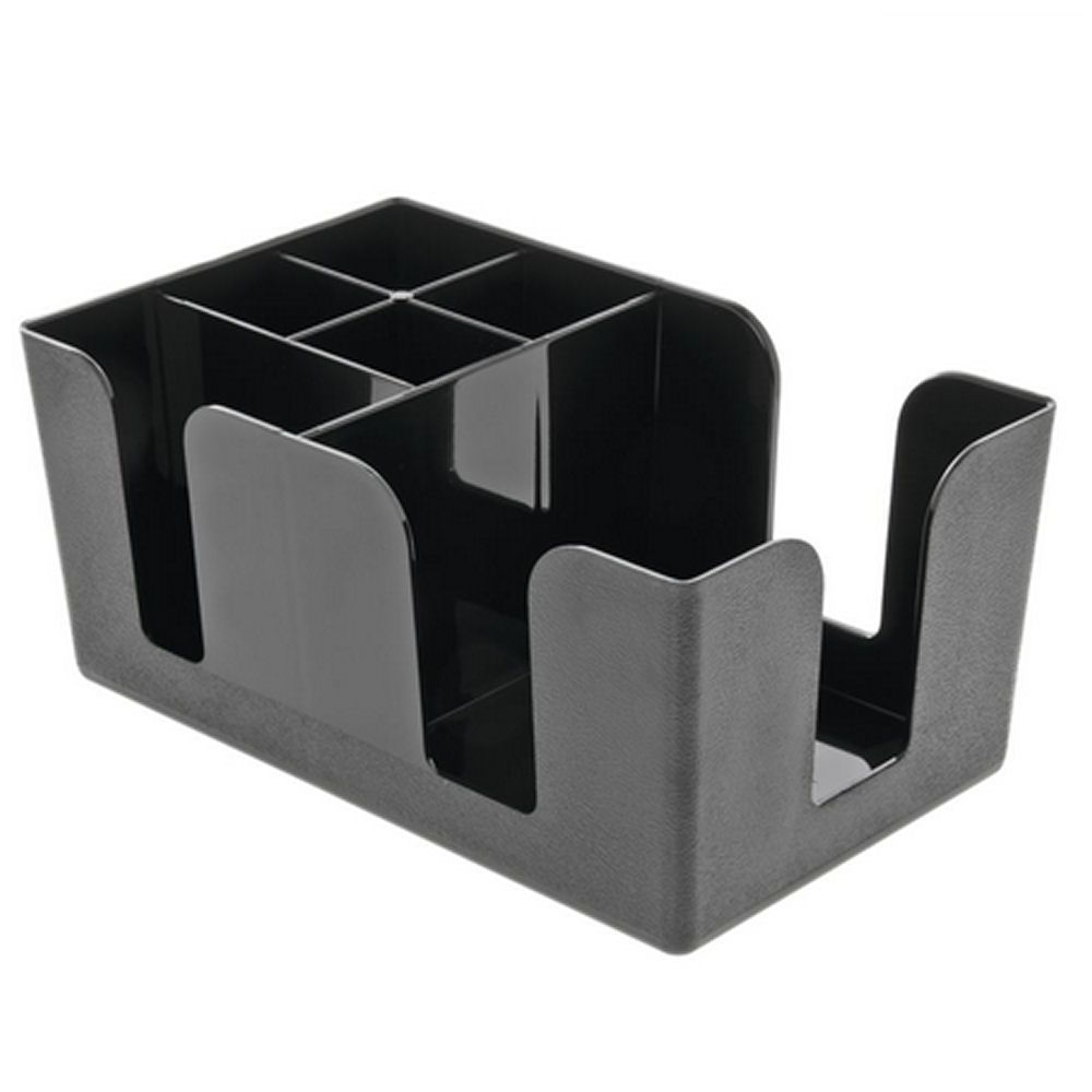 BarBits Black Plastic Bar Caddy