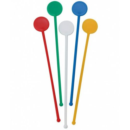 BarBits Mixed Disc Stirrers 7inch - 250pk