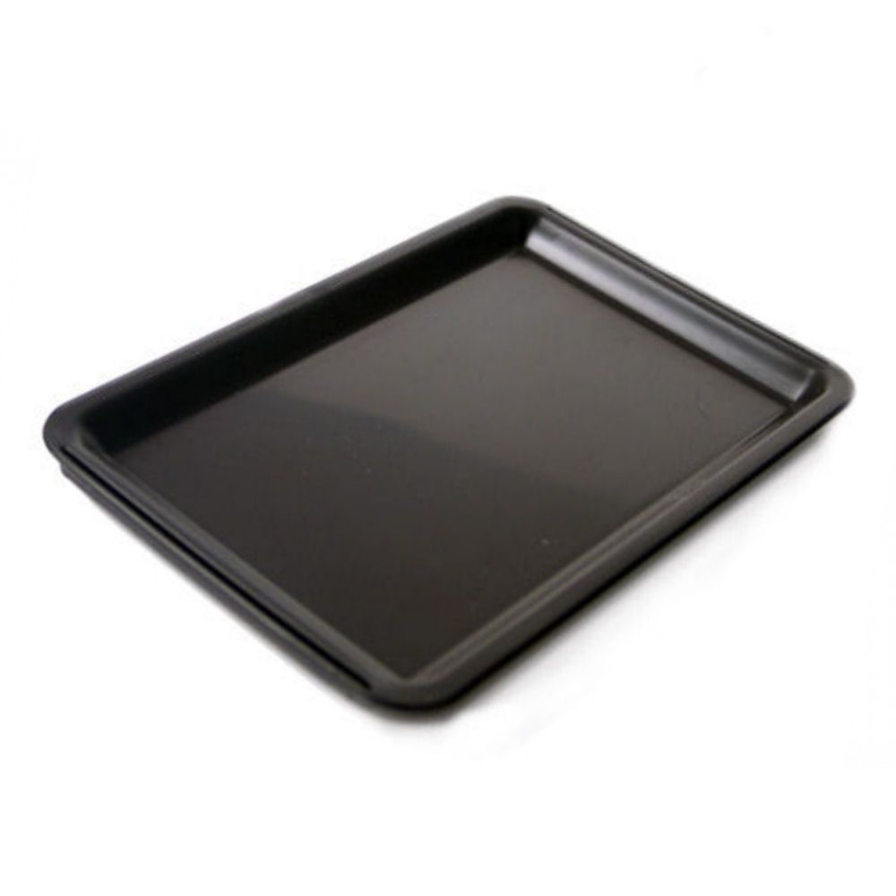 BarBits Plain Black Plastic Tip Tray