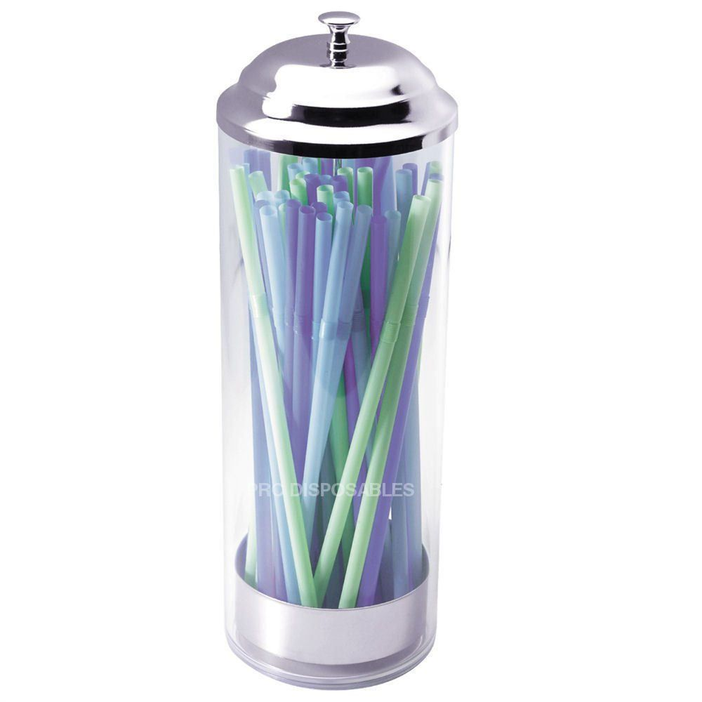 BarBits Plastic Straw Dispenser