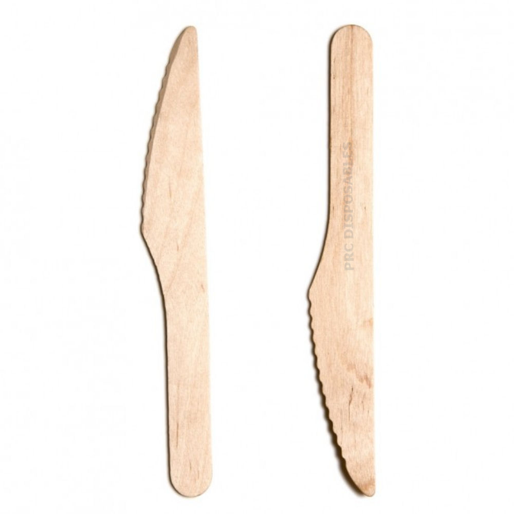 Biodegradable Wooden Knives
