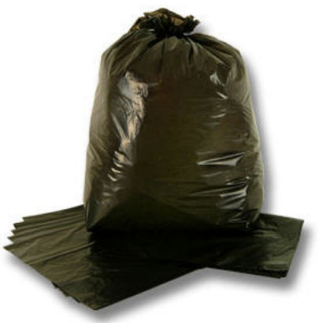 Black Bin Bags Refuse Sacks - 80 Litres