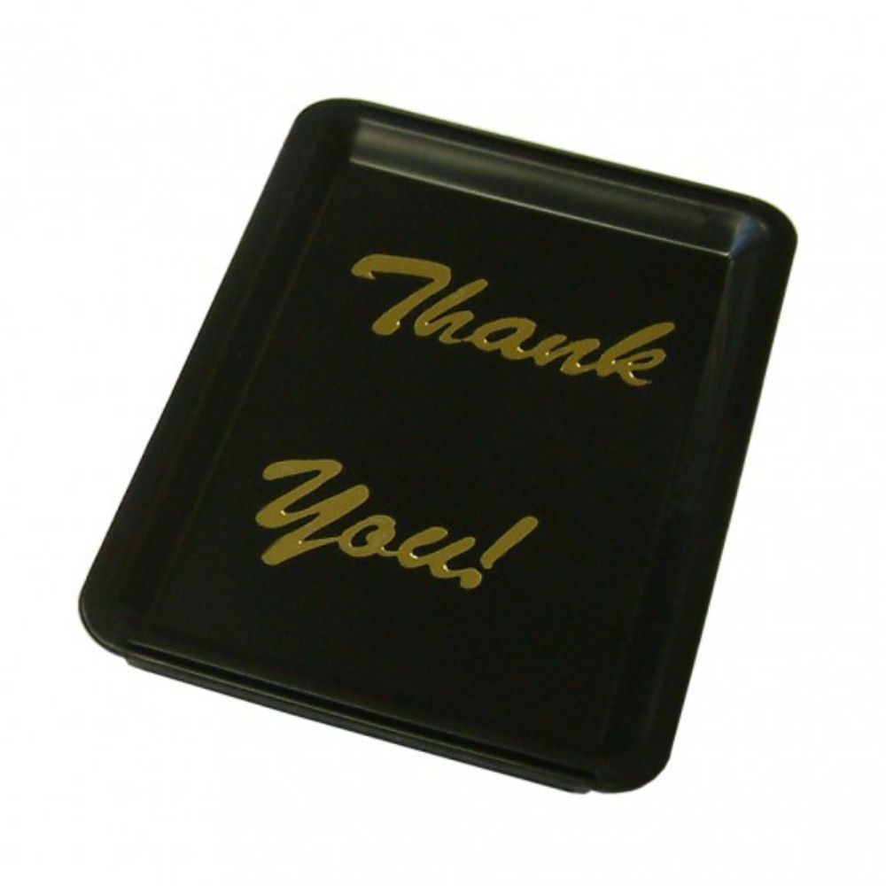 Black Plastic Tip Tray  Thank you