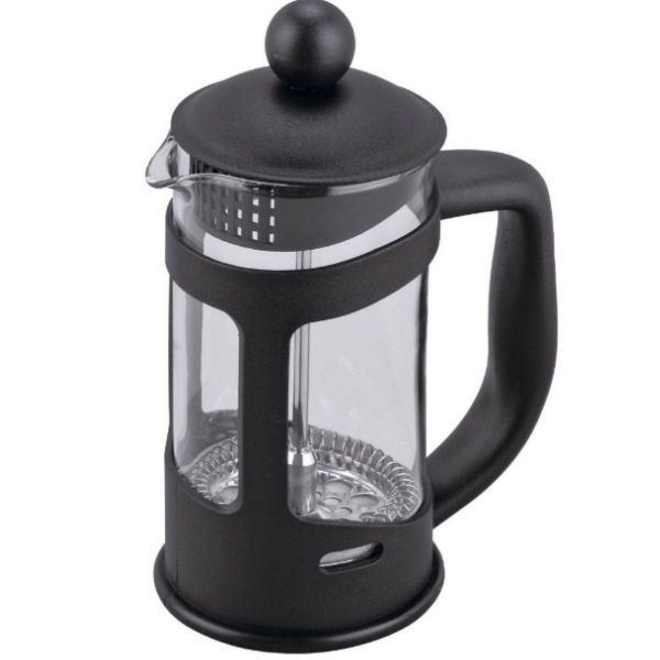Cafetiere Black Coffee Plunger | 6 Cups