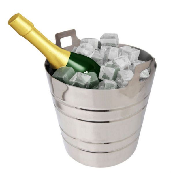 Champagne Bucket Stainless Steel 5 litre