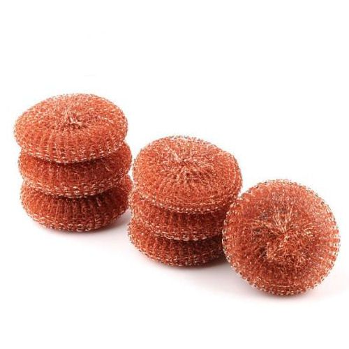 Copper Pot Scourers - pk 25
