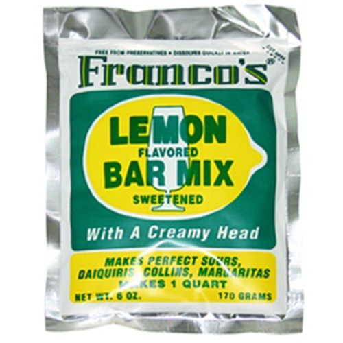 Franco's Lemon Cocktail Mix 170g - 1 Quart