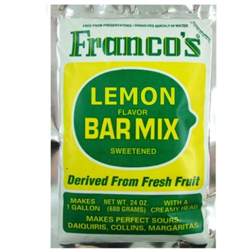 Franco's Lemon Cocktail Mix 680g 1 Gallon