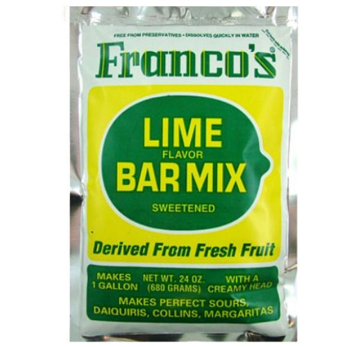 Franco's Lime Cocktail Mix 680g 1 Gallon