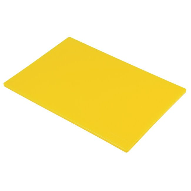HygiPlas Yellow Chopping Board | Cooked Meat Low Density