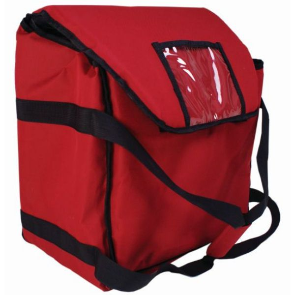"Insulated Pizza Delivery Bag 16"" x 14"" x 10"""