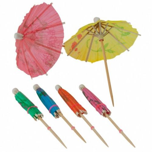 Paper Parasols Cocktail Party Umbrellas