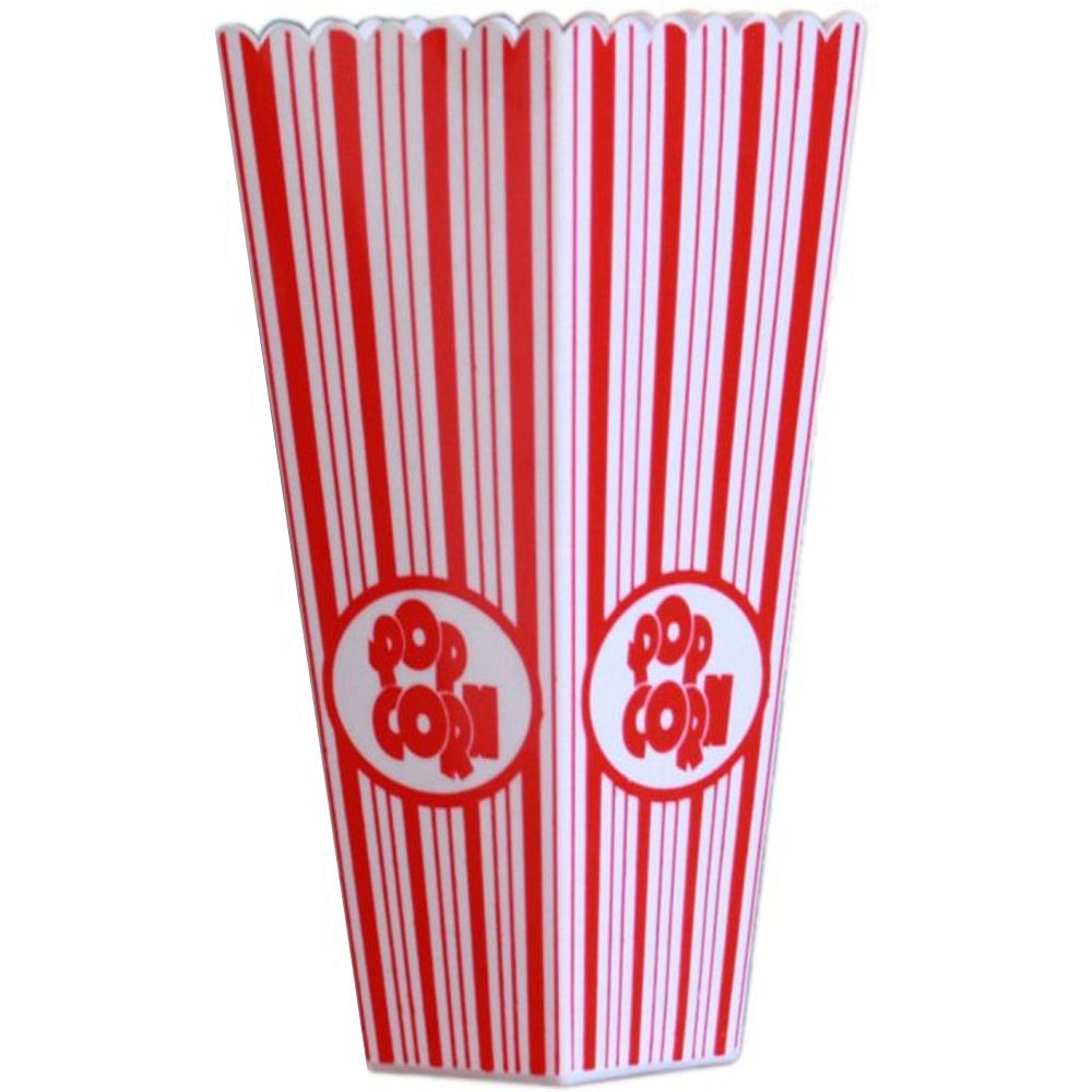 Plastic Popcorn Cocktail Holder - 1Litre