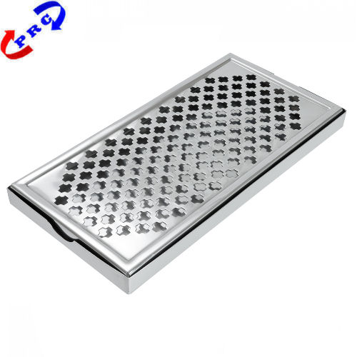 Rectangular Stainless Steel Drip Tray