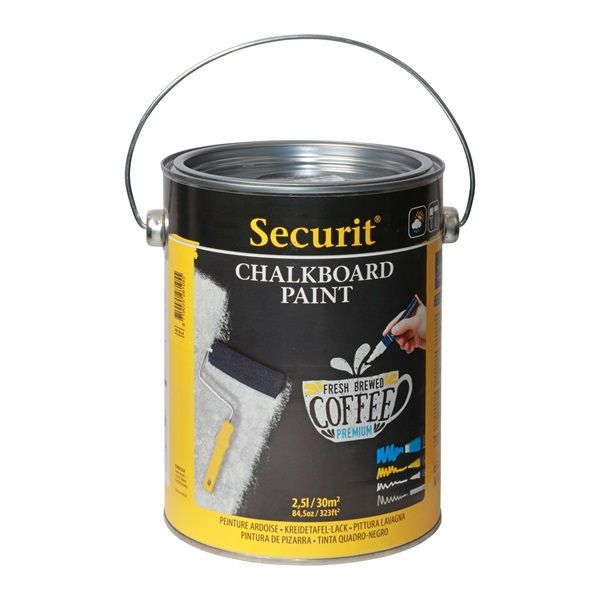 Securit Chalk Board Paint 2.5L