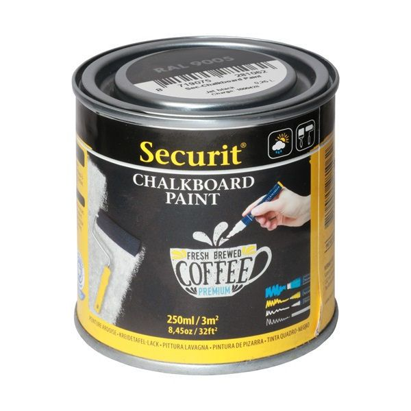Securit Chalk Board Paint 250ml