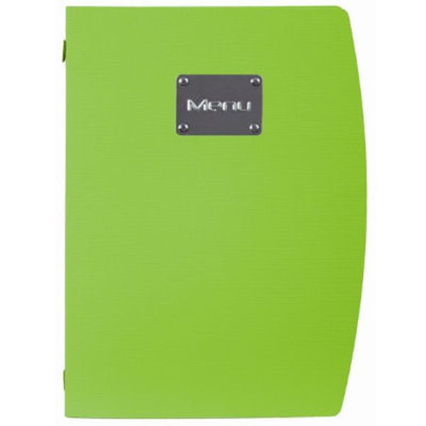 Securit Rio A4 Menu Holder Green 4 Pages