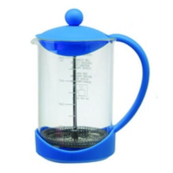 Splash Blue Coffee Cafetiere Plunger | 900ml