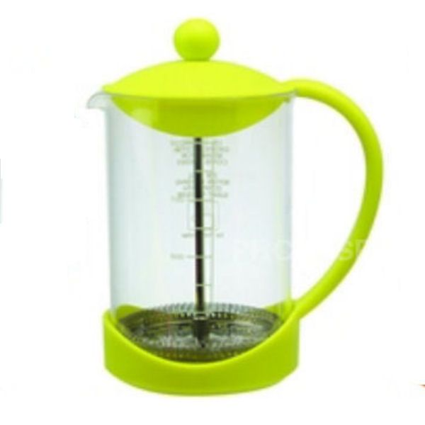 Splash Green Coffee Cafetiere Plunger | 900ml