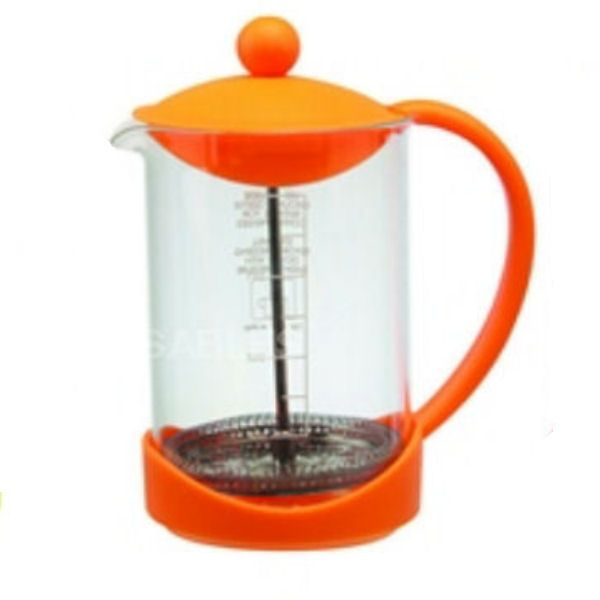 Splash Orange Coffee Cafetiere Plunger | 900ml
