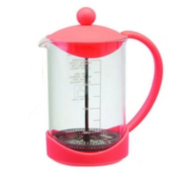 Splash Red Coffee Cafetiere Plunger | 900ml