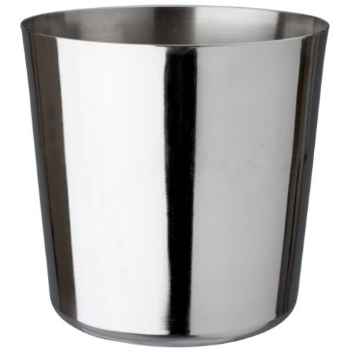 Stainless Steel Polished Chip Cup 8.5cm