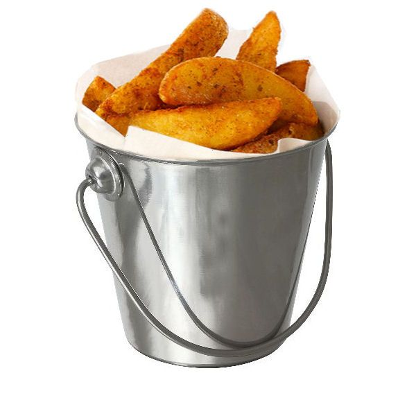 Stainless Steel Premium Serving Bucket 7cm ø