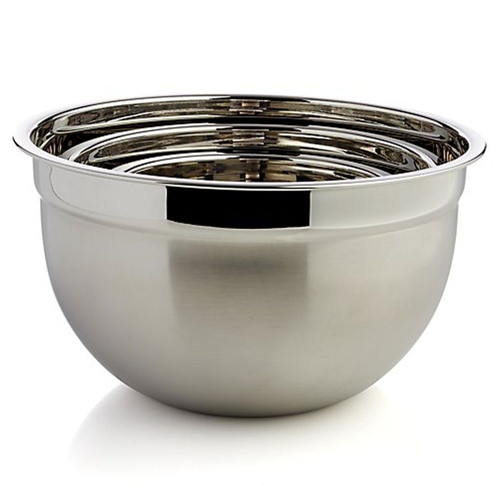 Swedish Bowl Stainless Steel 1 litre