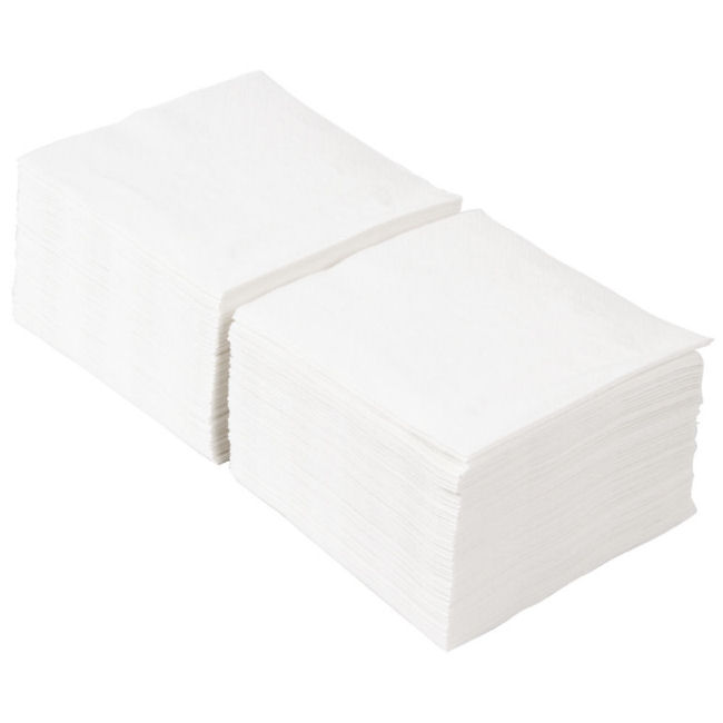 White Cocktail Napkins 2ply 24 x 24cm